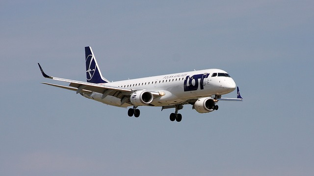 LOT Polish Airlines Plane
